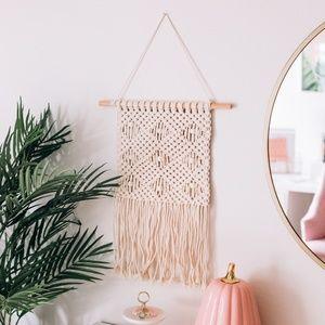 Handmade Woven Macrame Wall Hanging